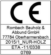 CE mark for NUR-HOLZ
