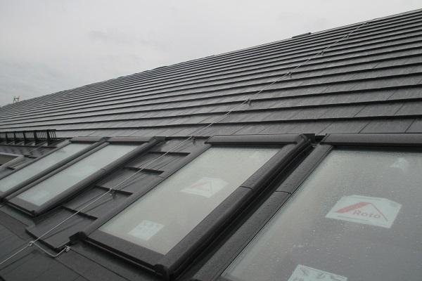 Super Dachstuhl, Dacheindeckung - Rombach Holzbau UF39